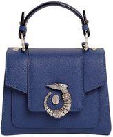 Trussardi Mini Lovy Grainy Leather Top Handle Bag