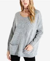 Karen Kane Embroidered Sweater