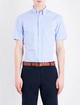 Polo Ralph Lauren Slim-fit short-sleeved pure cotton shirt