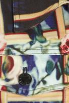 Mary Katrantzou Printed stretch-denim jacket
