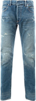 Balmain destroyed stone washed jeans - men - Cotton - 29