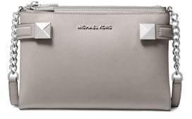 MICHAEL Michael Kors Karla Large Studded Tri-Fold Wallet