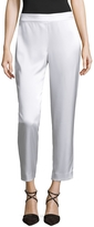 St. John Women's Elasticized Crop Pant