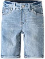 Levi's Sweetie Glitter Denim Bermuda Shorts, Little Girls (4-6X)