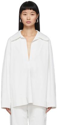 Kassl Editions SSENSE Exclusive White Pop Oil Shirt