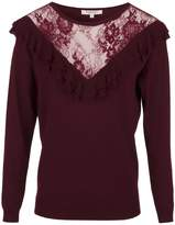 Morgan Jumper With Ruffles And Lace