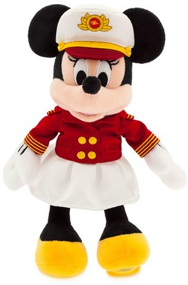Disney Captain Minnie Mouse Plush Cruise Line Small 11''