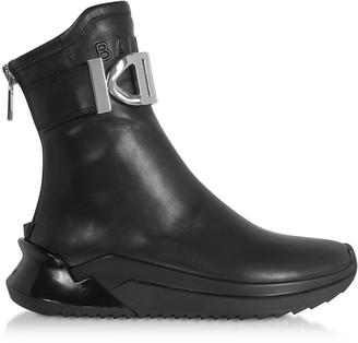 Balmain Black B-Glove Nappa Sneakers