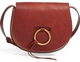 Madewell O-Ring Leather Saddle Bag
