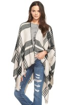 BP Junior Women's Plaid Poncho