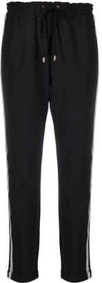 Liu Jo Cropped Drawstring Trousers