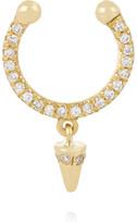 Ileana Makri Spike 18-karat Gold Diamond Nose Ring - one size