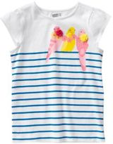 Crazy 8 Bird Stripe Tee