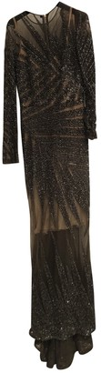 Elie Saab Khaki Lace Dress for Women