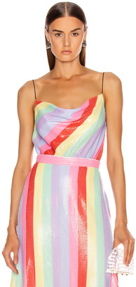 Olivia Rubin Clover Cami in Fall Stripe | FWRD