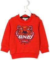 Kenzo Tiger sweatshirt - kids - Cotton - 9 mth