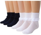 Jefferies Socks Misty 6-Pack Girls Shoes