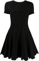 Valentino Flared Knit Dress