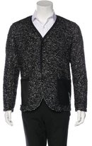 Junya Watanabe Wool-Blend Patchwork Jacket
