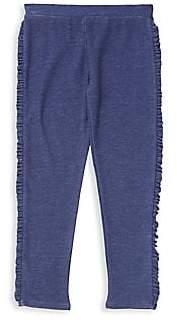 Chaser Little Girl's & Girl's Side Ruffle Pants