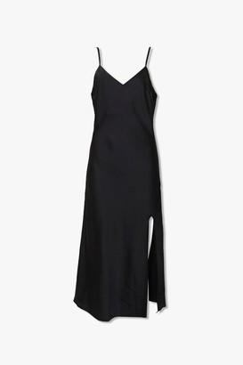 Forever 21 Side Slit Midi Dress