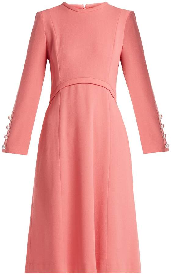 Goat Golightly wool-crepe dress