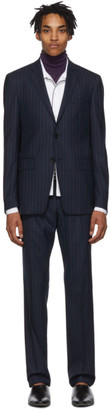 Etro Navy Semitradizione Suit