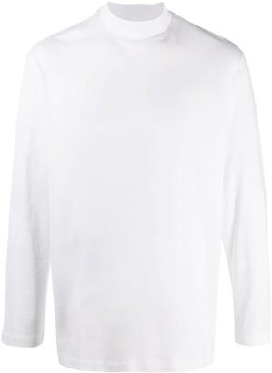 Y-3 funnel neck T-shirt