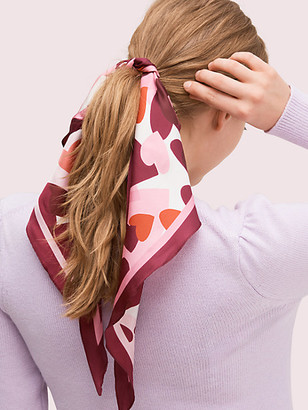 Kate Spade Party Hearts Diamond Scarf
