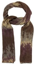 Missoni Patterned Mohair Scarf