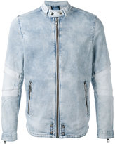 Diesel denim zip jacket - men - Cotton/Polyester/Spandex/Elastane - M