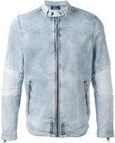 Diesel denim zip jacket - men - Cotton/Polyester/Spandex/Elastane - S
