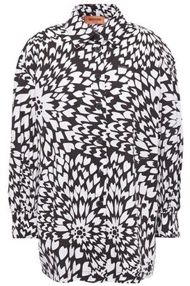 Missoni Printed Cotton-poplin Shirt