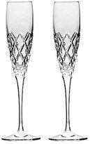 Waterford Crosslake Crystal Flute Pair