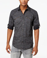 INC International Concepts Men's Komorebi Print Cotton Shirt, Only at Macy's