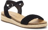 Lucky Brand Grecilyn Suede Espadrille Sandal
