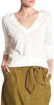 Tommy Bahama Pickford Frayed Silk Trim Pullover Sweater