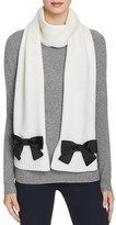 Kate Spade Muffler Scarf with Grosgrain Bows