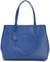 Anya Hindmarch 'Ebury' smiley shopper - women - Leather - One Size