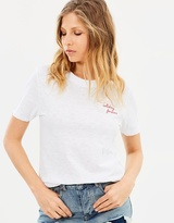 Maison Scotch Garment Dyed SS Tee