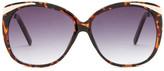 Betsey Johnson Women&s Rounded Cat Eye Sunglasses
