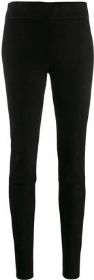 Jil Sander panelled legging trousers