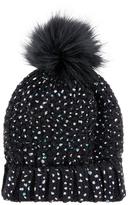 Accessorize ThinsulateTM Foiled Faux Fur Pom Beanie Hat