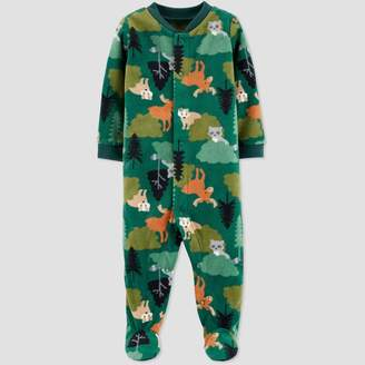 Carter's Just One You Made By Baby Boys' Animal Fleece Sleep 'N Play - Just One You® made by