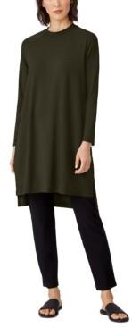 Eileen Fisher Raglan-Sleeve Dress