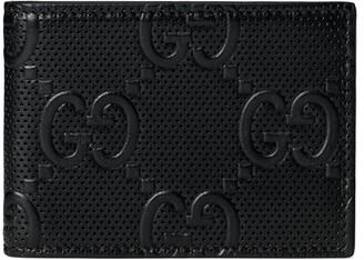 Gucci GG embossed bi-fold wallet