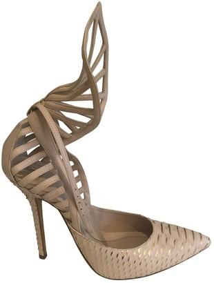 RALPH & RUSSO Pink Python Heels