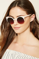 Forever 21 FOREVER 21+ Gradient Cat Eye Sunglasses