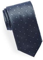 HUGO Mixed Print Silk Tie