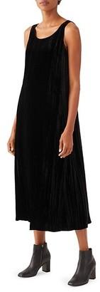 Eileen Fisher Scoopneck Flare Dress